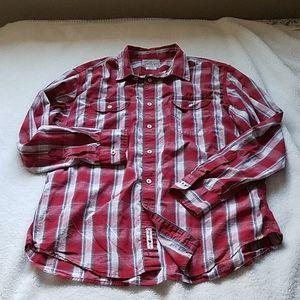 Lucky Brand Mens Plaid Long Sleeve shirt